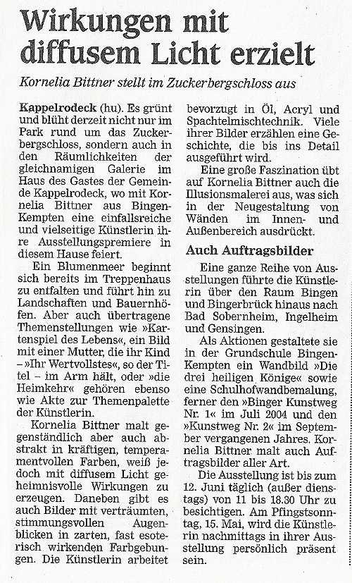 10.05.2005 - Acher-Rench-Zeitung, Achern
