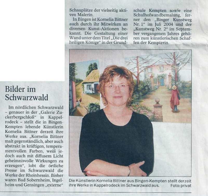 28.05.2005 - Allgemeine Zeitung, Mainz-Bingen