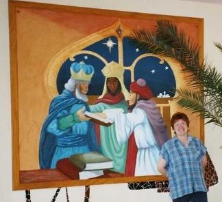 Wandbild Hl. Drei Könige