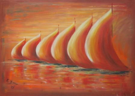 Die roten Segel